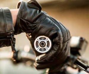 guantes para moto de piel