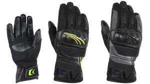 guantes para moto de varios tamaños