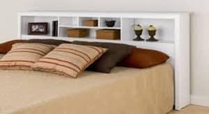 cabezal de cama con compartimentos
