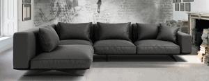 sofá con chaise longue moderno