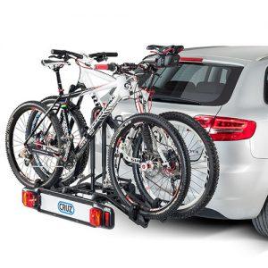 portabicicletas con dos bicis