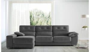 sofá con chaise longue de 3 plazas