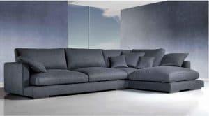 sofá con chaise longue grande