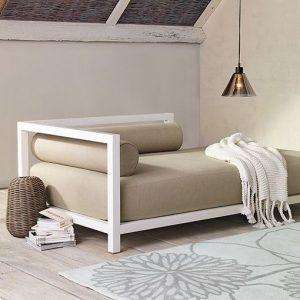 sofá cama con estilo