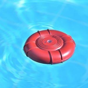 alarma de piscina redonda
