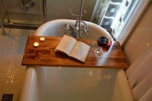 bandeja de bañera lisa