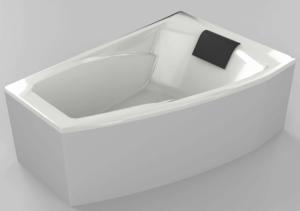 bañera de ángulo para una persona