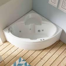 bañera de ángulo pequeña