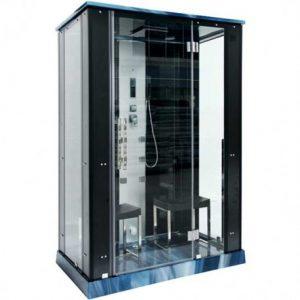 cabina de ducha rectangular