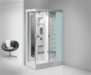 cabina de ducha grande circular
