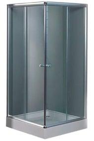 cabina de ducha cuadrada