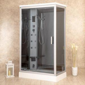 cabina de ducha opaca