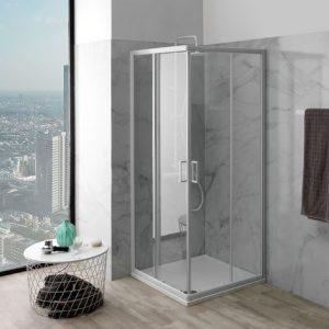 cabina de ducha minimalista
