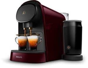 cafetera de cápsula para dos cafés