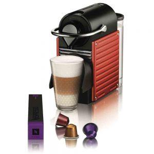 cafetera Nespresso y cápsulas