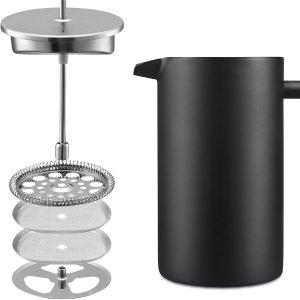 filtro de la cafetera de pistón