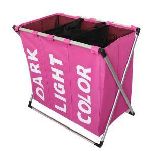 cesta de la ropa con diferentes compartimentos