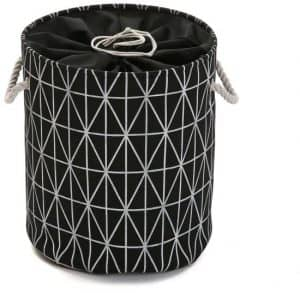 cesta de la ropa negra