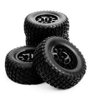 ruedas de un coche teledirigido