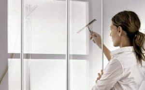 limpiar cabina de ducha