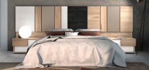 cabezal de cama de varios colores