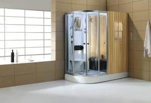 cabina de ducha grande