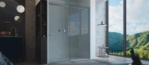 mampara de la ducha moderna