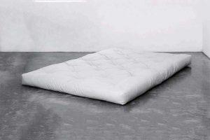 futón blanco
