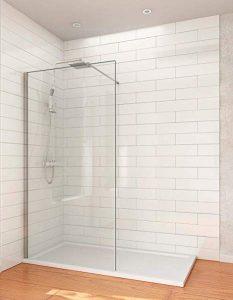 mampara de ducha pequeña