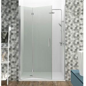 mampara de ducha plegable