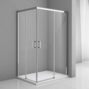 mampara de ducha cerrada