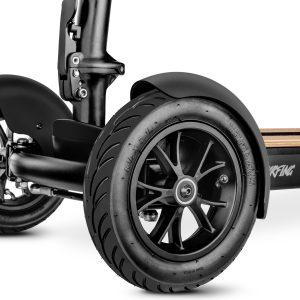 ruedas de un patinete eléctrico