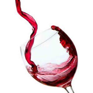 copa de vino con vino