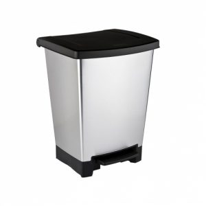 cubo de basura amplio