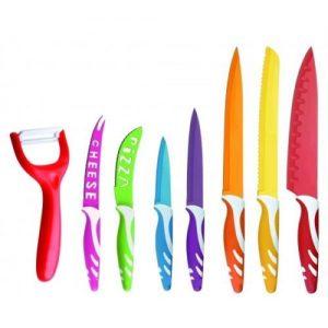 set de cuchillos de cerámica