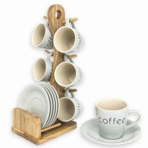lote de tazas de café