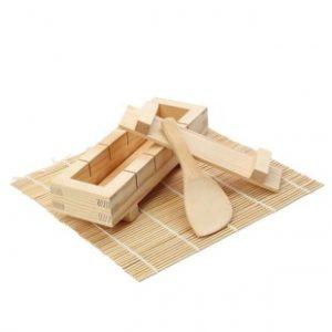 kit de sushi de madera