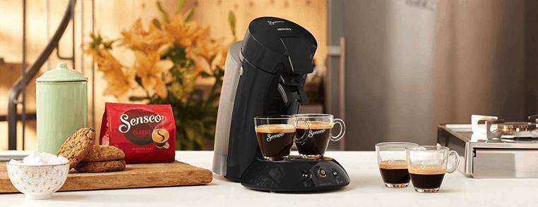 cafetera Senseo en la cocina