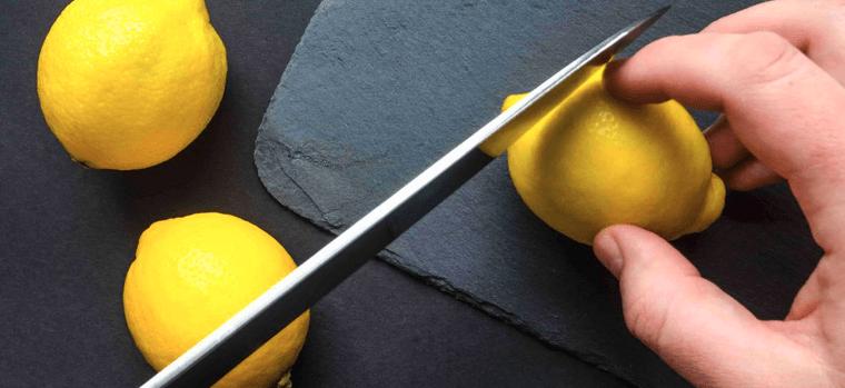 cuchillo de cerámica para cortar limones