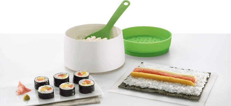 kit de sushi con arrocera