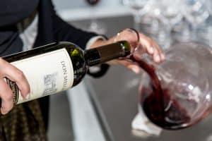 decantar vino de Burdeos
