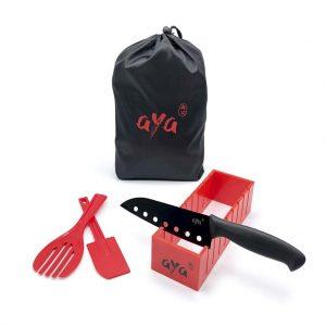 kit de sushi con una bolsa
