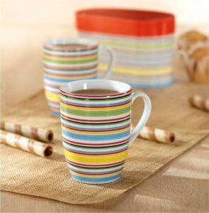 taza de café de colores