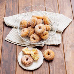 donuts con azúcar
