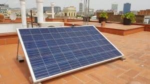 placa solar pequeña