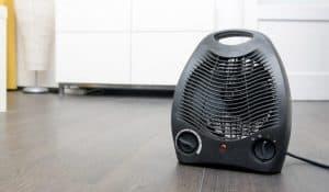 calefactor en casa