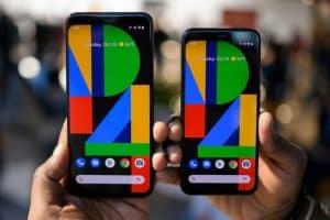 dos teléfonos móviles