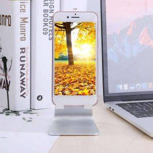 soporte para móvil con móvil