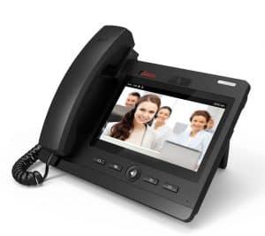 teléfono VoIP solo con pantalla