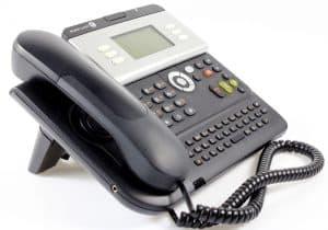 teléfono VoIP con muchas teclas
